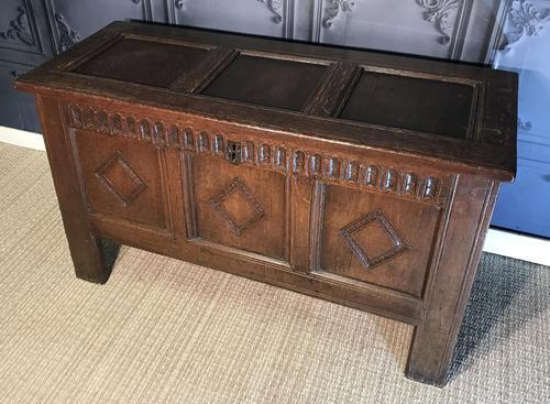 17th Century Oak Coffer (1 of 14)