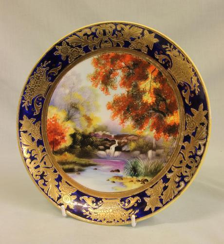 A Wonderful Noritake Cabinet Plate (1 of 5)