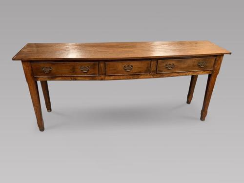 19th Century Oak Dresser Base (1 of 4)