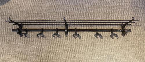 Wrought Iron Hat Coat Rack (1 of 9)