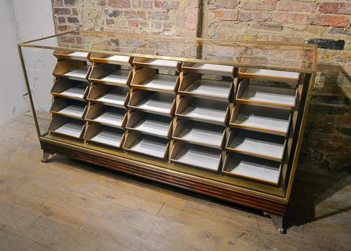 1920s Bronze Counter with Drawers (1 of 9)