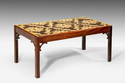 Late 18th Century Custom Built Mahogany Low Table (1 of 5)