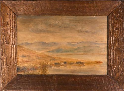 Oil on Board of Landscape (1 of 2)