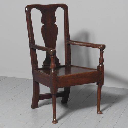 George II Oak Armchair (1 of 9)