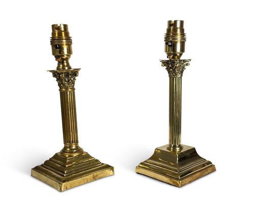 Corinthian Table Lamps (1 of 6)