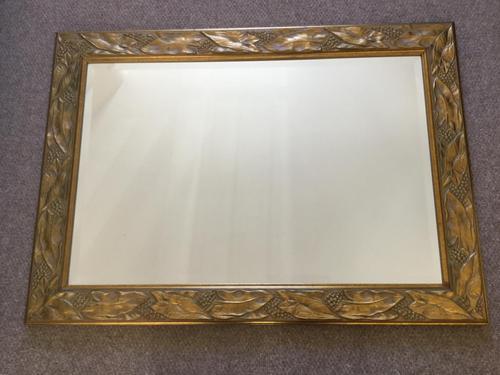 Gilt Framed Bevelled Mirror (1 of 3)