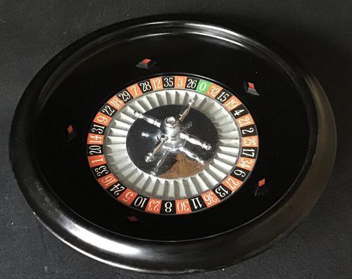 Art Deco Bakelite Roulette Wheel (1 of 6)