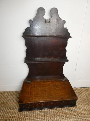 Early 19th Century Oak Spoon Rack (1 of 8)