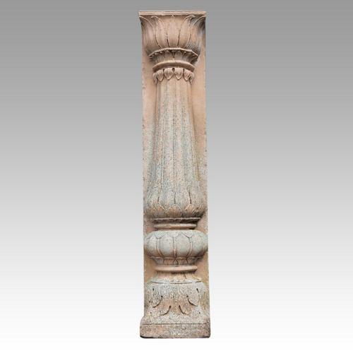 Antique Half Sandstone Column (1 of 3)