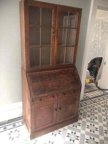 Heals Bureau Bookcase (1 of 3)