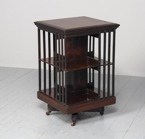 Victorian Rosewood Revolving Bookcase (1 of 8)