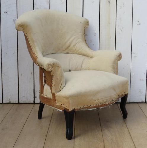 Antique Napoleon III Armchair (1 of 9)