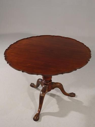 Handsome George III Period Mahogany Tilt Table (1 of 6)