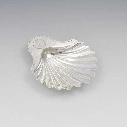George III Silver Scallop Shell Butter Dish London 1782 (1 of 10)