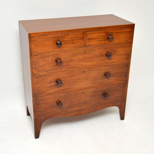 Antique Georgian  Mahogany Chest of Drawers (1 of 11)