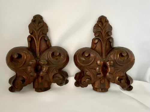 Victorian English Carved Pew End (1 of 4)