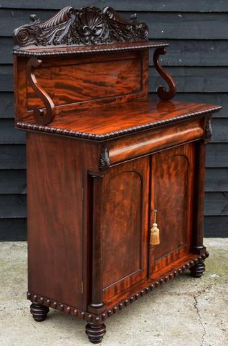 Superb Regency Mahogany Cabinet / Cupboard / Chiffonier c.1820 (1 of 7)