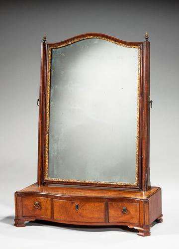 Chippendale Period Mahogany Dressing Mirror (1 of 3)