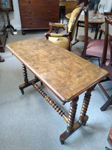 Burr Walnut Side Table (1 of 5)