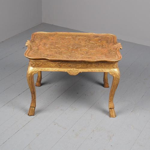 George I Style Giltwood Table (1 of 12)