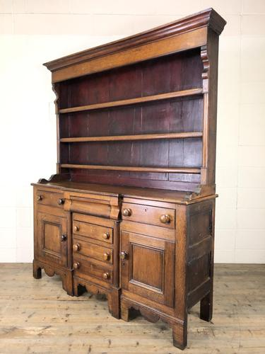 Antique 19th Century Oak Dresser (1 of 16)