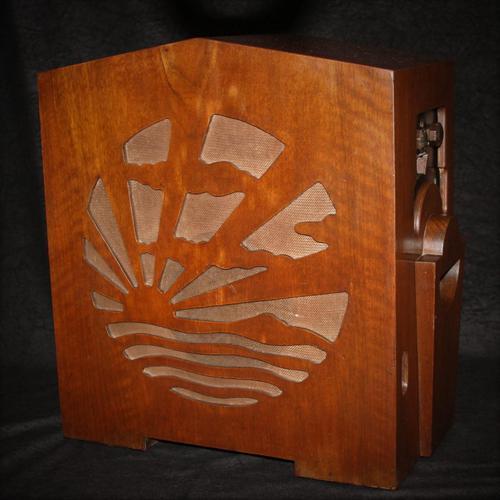 Pye Model MM Rising Sun Transportable Radio c.1931 (1 of 12)