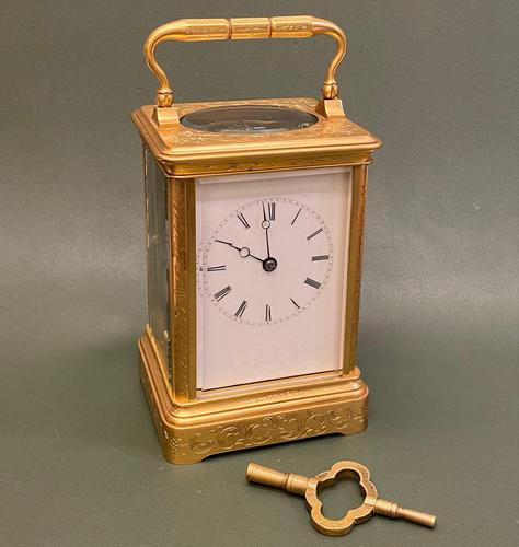 Alfred Drocourt - Very Good French Carriage Clock (1 of 6)
