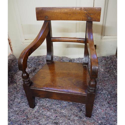 Scottish Vernacular Laburnum Childs Chair (1 of 5)