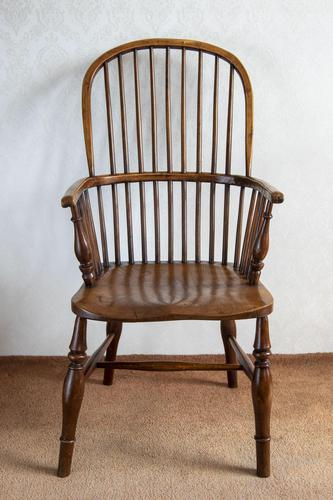 Early 19th Century Hoop-back Windsor Chair in Ash (1 of 4)