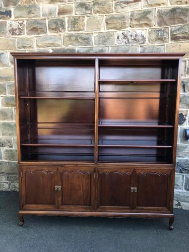 Antique Mahogany Library Bookcase (1 of 13)