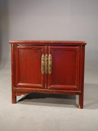 Late 19th Century Chinese Dwarf Cabinet (1 of 4)