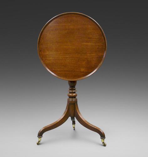 An Unusual George III Mahogany Tripod Table (1 of 5)