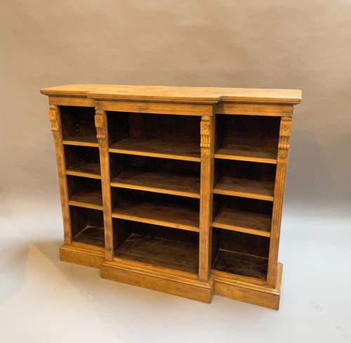Victorian  Breakfront Bookcase (1 of 11)