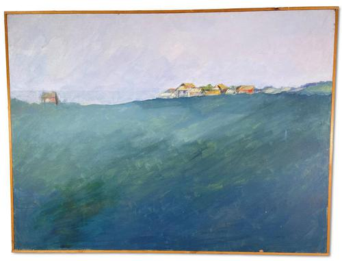 English Oil on Canvas Landscape (1 of 5)