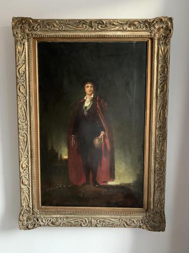 19th Century Oil on Canvas after Sir Thomas Lawrence (1 of 4)