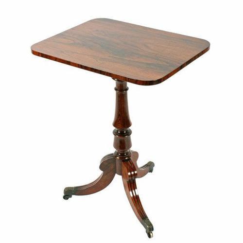 Georgian Rosewood Lamp Table (1 of 8)