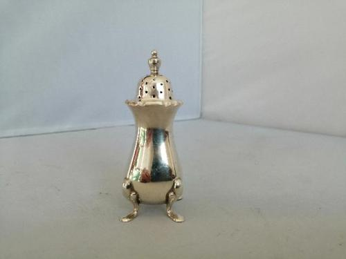 Charming Silver Pepper Pot (1 of 5)