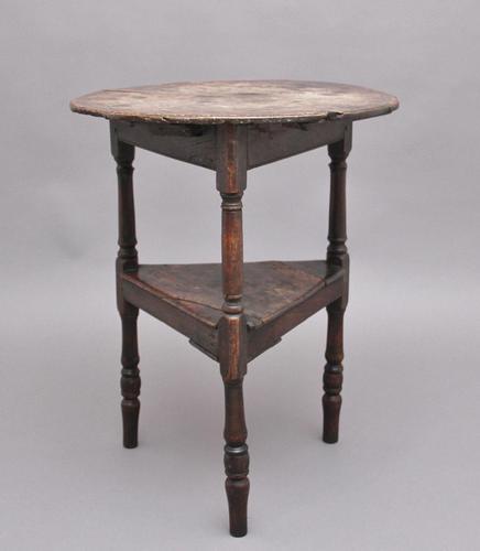 17th Century Oak Cricket Table (1 of 10)