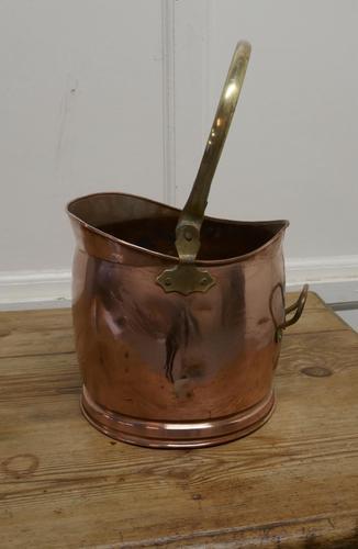 Copper Helmet Coal Scuttle (1 of 5)