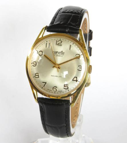 Gents 1960s Corvette Wrist Watch (1 of 5)