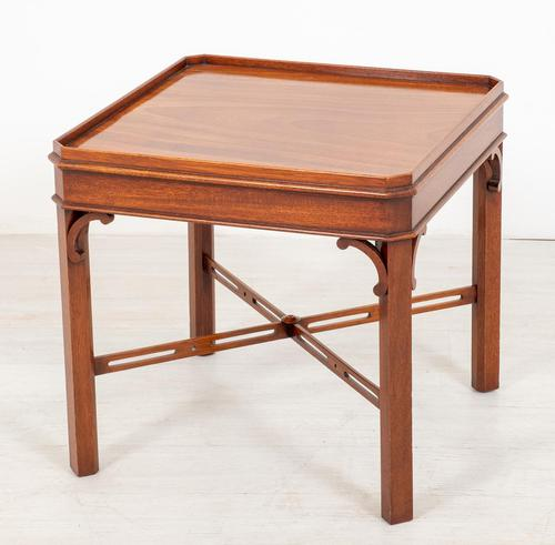 Regency Style Mahogany End Table c.1920 (1 of 6)