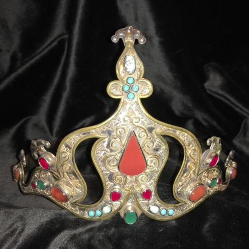 Stunning Headdress Set with Real Gemstones (1 of 8)