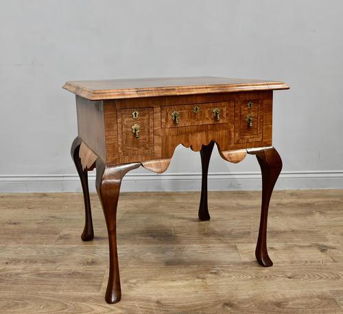 Antique Walnut Lowboy Hall Table (1 of 5)