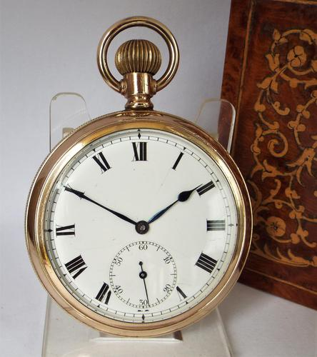 Antique 1920s Electa Pocket Watch (1 of 4)