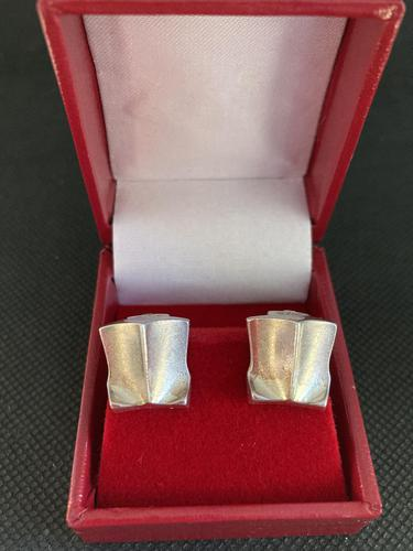 Lapponia Sterling Silver Ear Clips (1 of 6)