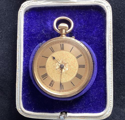 Watch Pocket Gold Ladies (1 of 5)