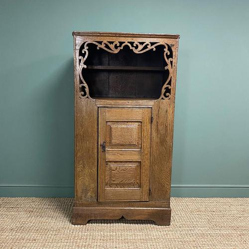 17th Century Oak Country House Antique Cupboard (1 of 7)