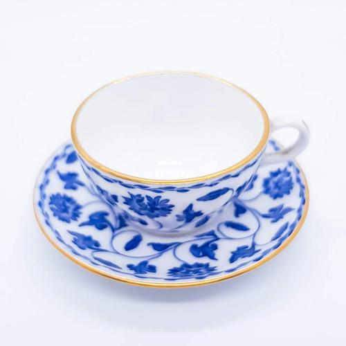 Blue and White Spode Miniature Cup and Saucer (1 of 5)