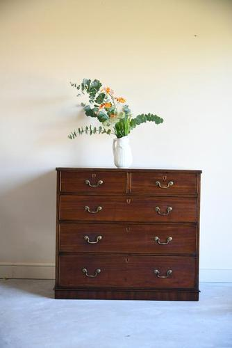 Antique Straight Front Chest of Drawers (1 of 12)