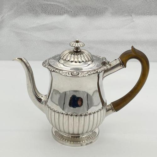 Antique George IV Sterling Silver Gravy Argyle London 1822 Thomas Burwash (1 of 8)